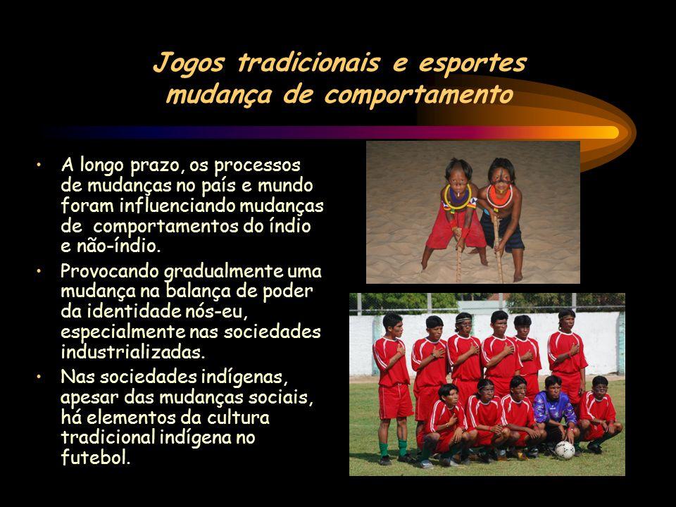 Jogos tradicionais e esportes mudança de comportamento