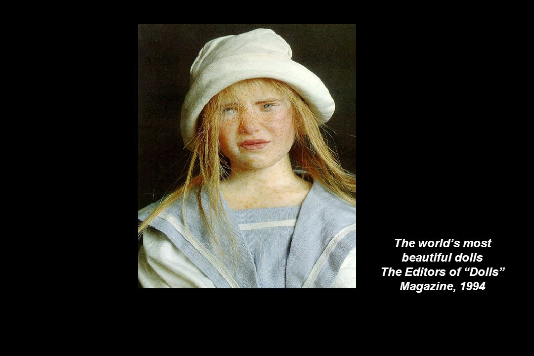 The world's most beautiful dolls The Editors of Dolls Magazine, 1994