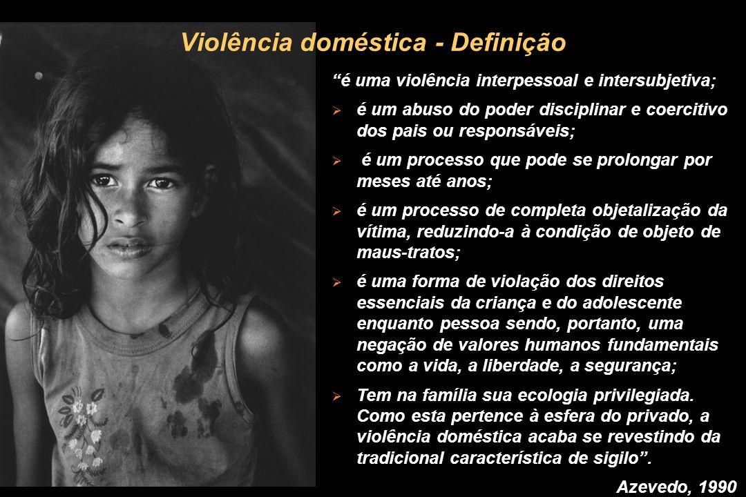 Violência doméstica - Definição