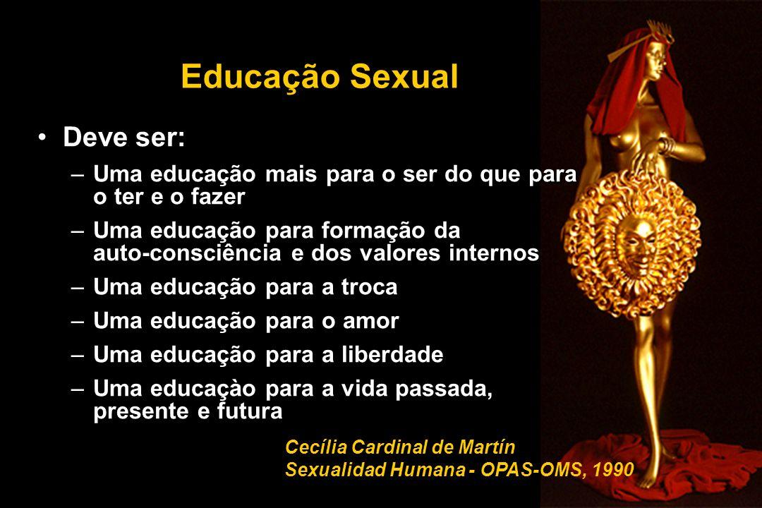 Educação Sexual Deve ser: