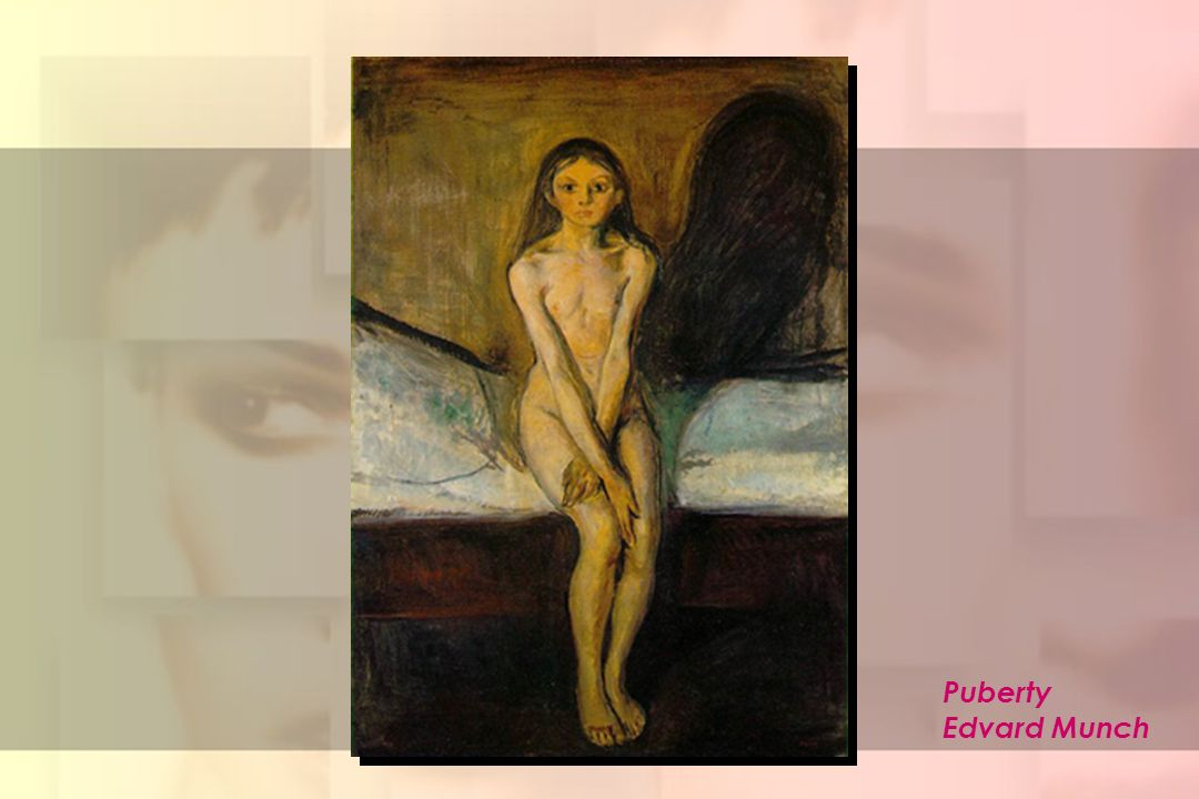 Puberty Edvard Munch