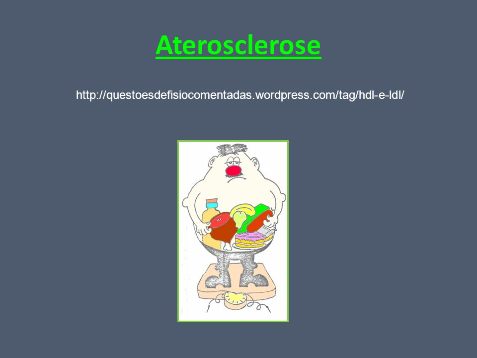 Aterosclerose http://questoesdefisiocomentadas.wordpress.com/tag/hdl-e-ldl/