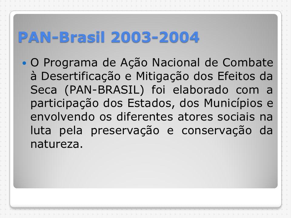 PAN-Brasil 2003-2004