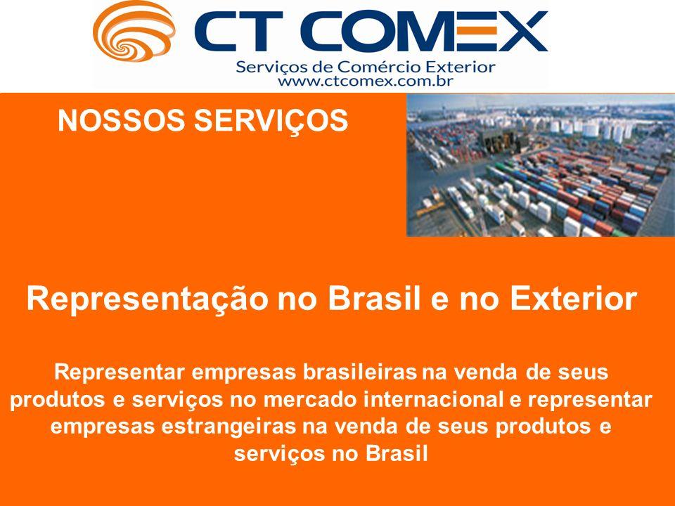 Representação no Brasil e no Exterior