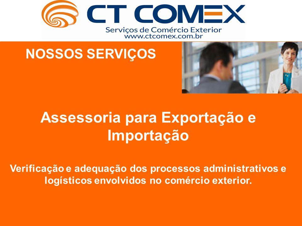 Assessoria para Exportação e Importação