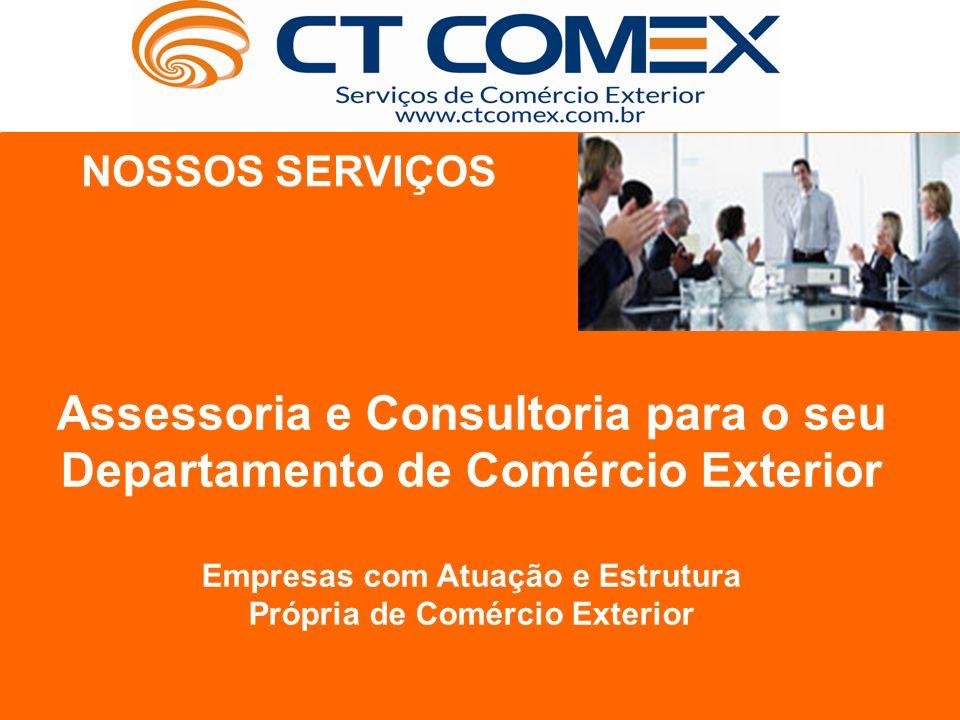 Assessoria e Consultoria para o seu Departamento de Comércio Exterior