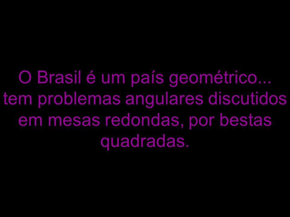 O Brasil é um país geométrico