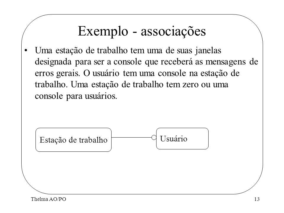 Exemplo - associações