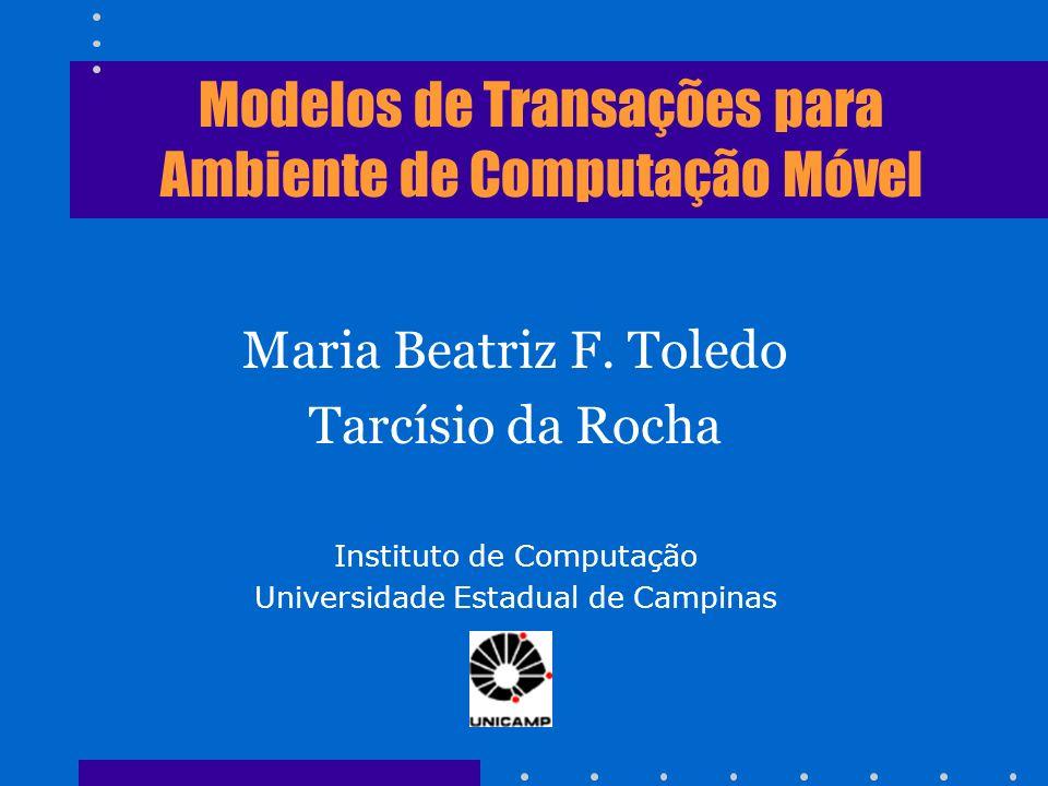 Modelos de Transações para Ambiente de Computação Móvel
