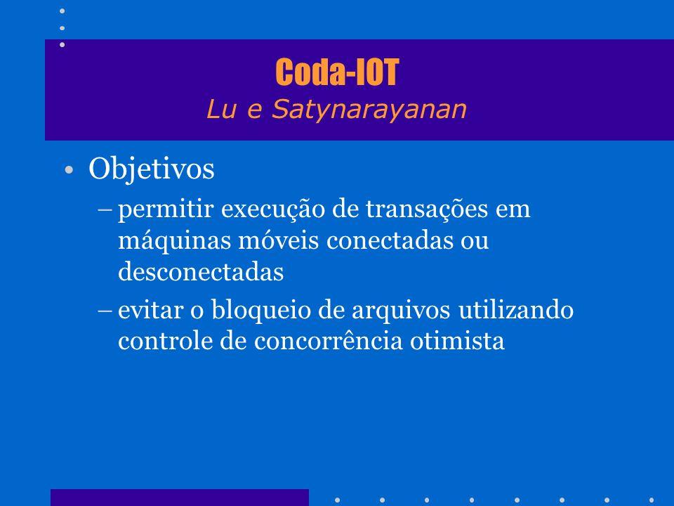 Coda-IOT Lu e Satynarayanan