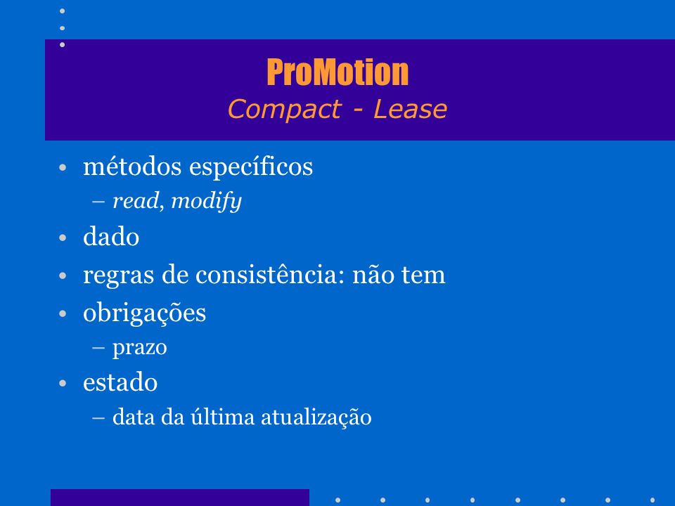 ProMotion Compact - Lease