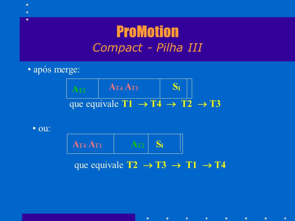 ProMotion Compact - Pilha III