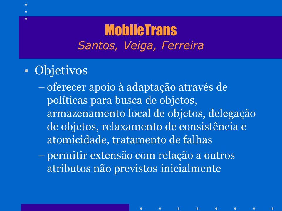 MobileTrans Santos, Veiga, Ferreira