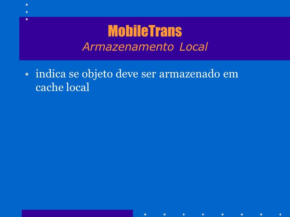 MobileTrans Armazenamento Local