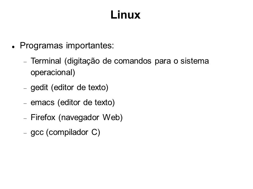 Linux Programas importantes: