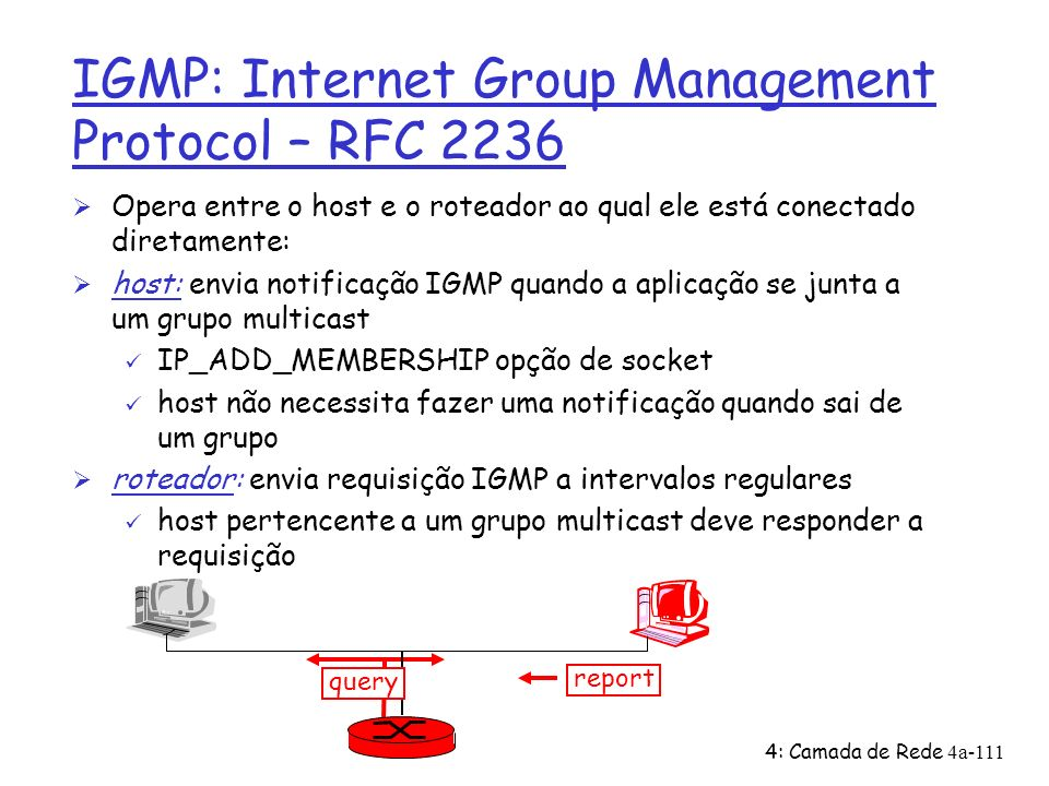 IGMP: Internet Group Management Protocol – RFC 2236