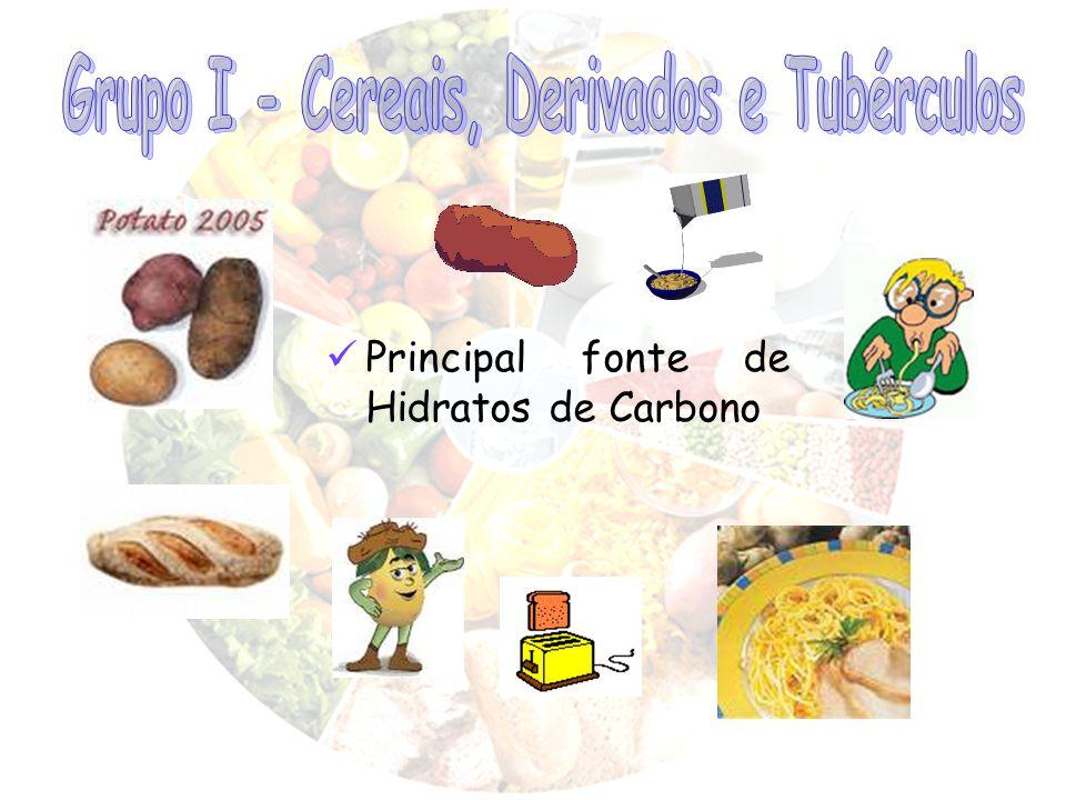 Grupo I - Cereais, Derivados e Tubérculos