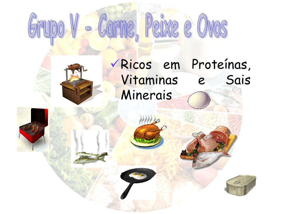 Grupo V - Carne, Peixe e Ovos