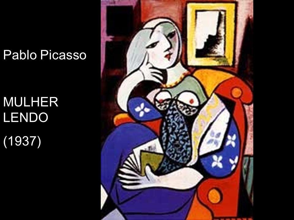 Pablo Picasso MULHER LENDO (1937)