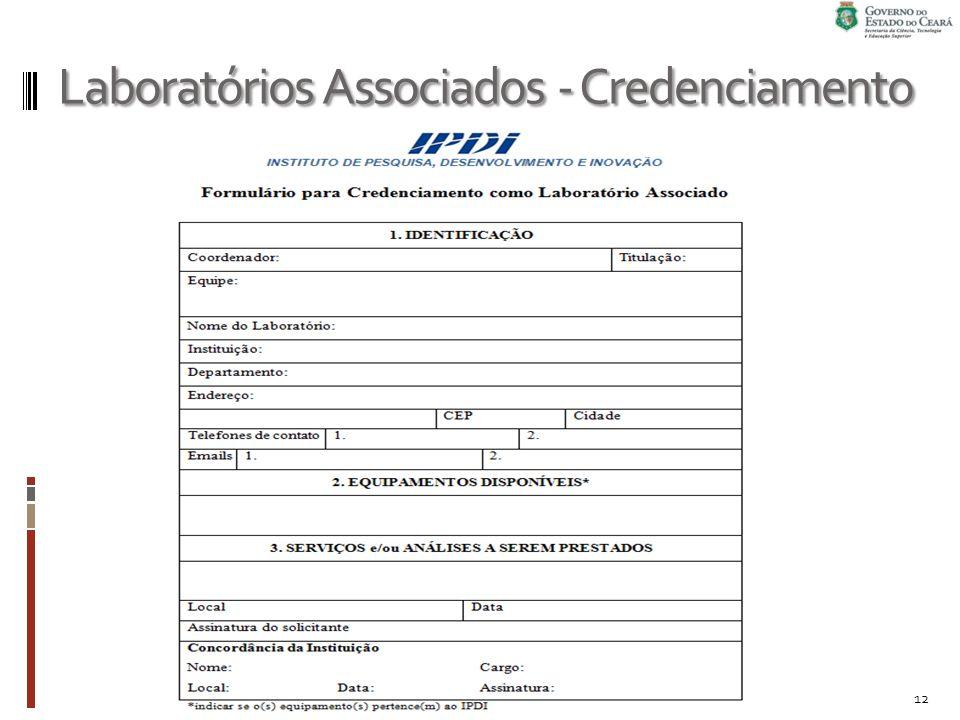 Laboratórios Associados - Credenciamento