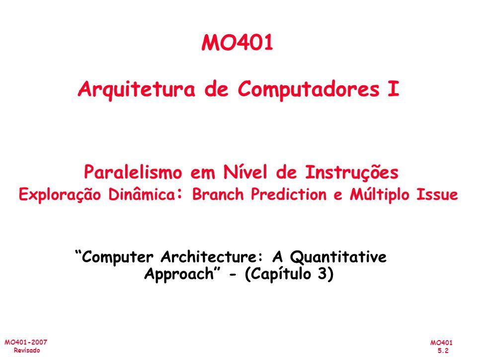 Computer Architecture: A Quantitative Approach - (Capítulo 3)
