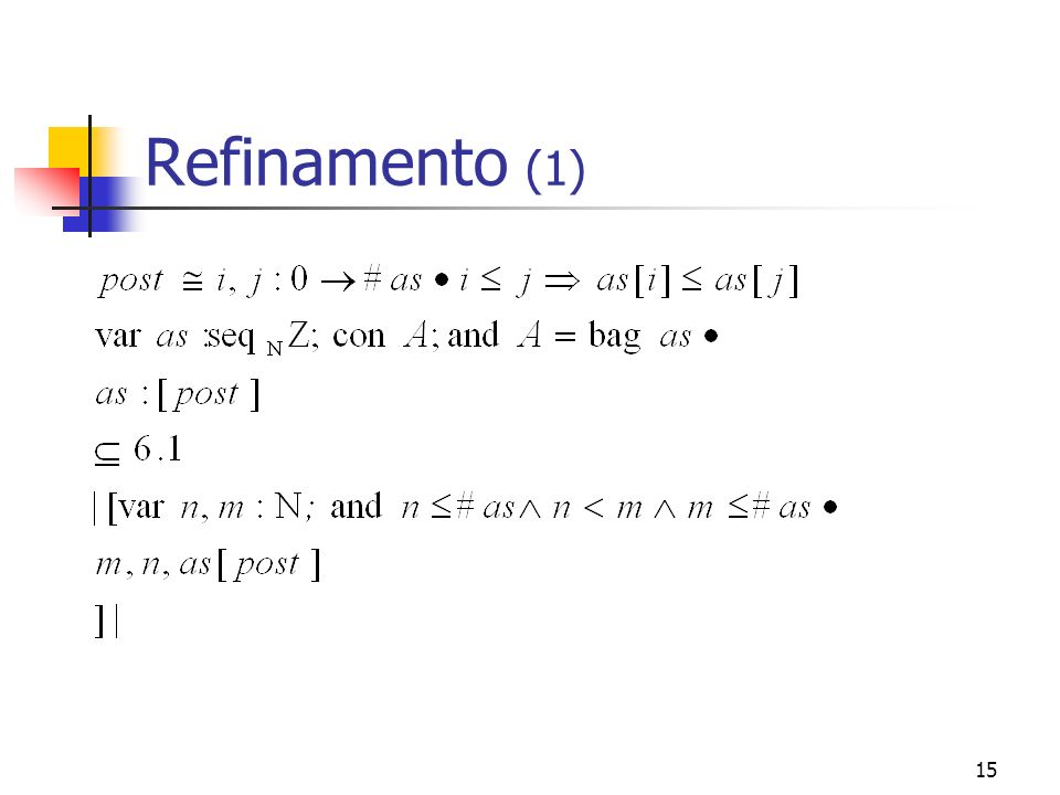 Refinamento (1)