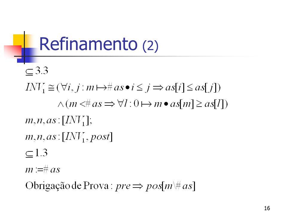 Refinamento (2)