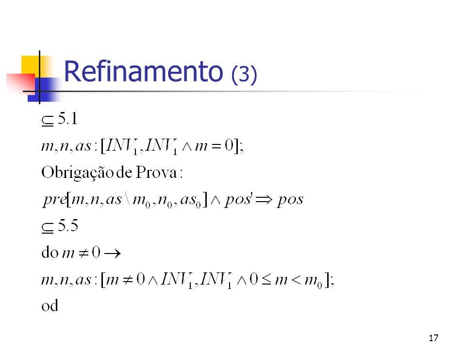 Refinamento (3)