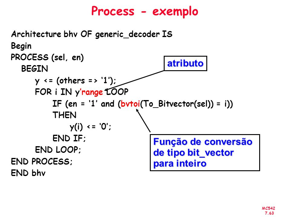 Process - exemplo atributo