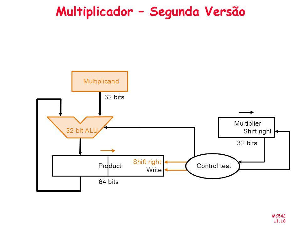 Multiplicador – Segunda Versão