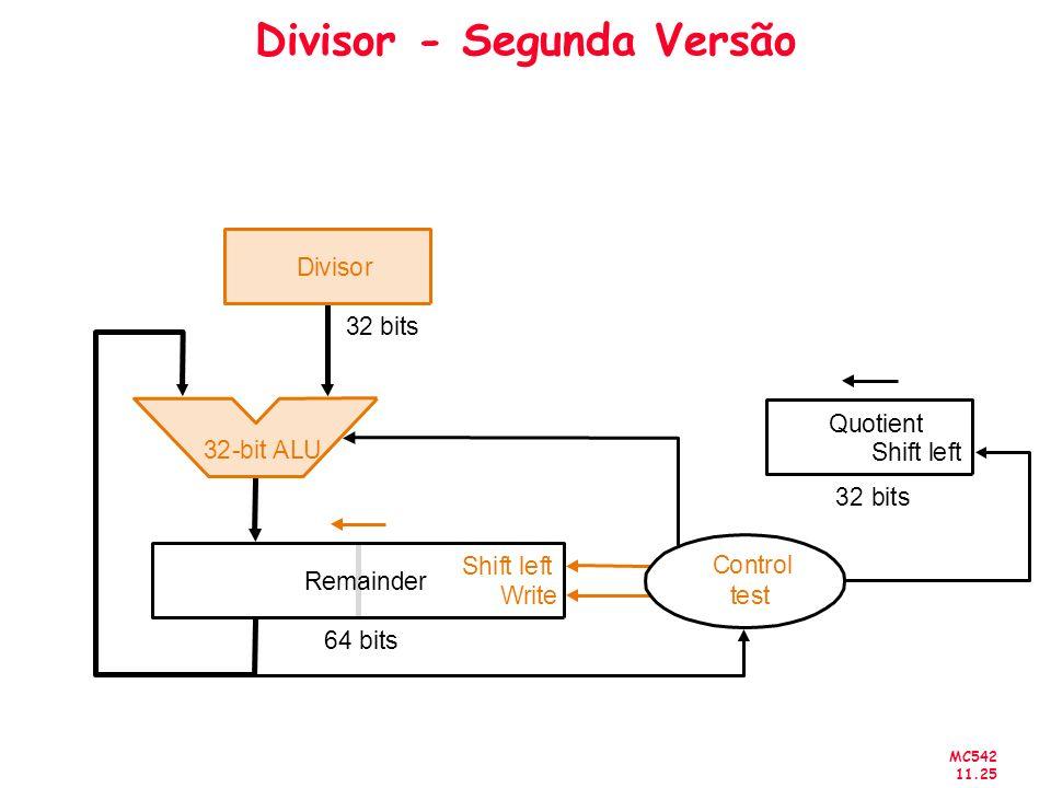 Divisor - Segunda Versão