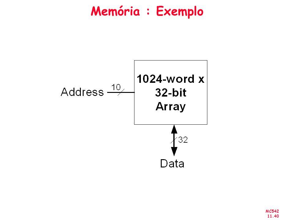 Memória : Exemplo