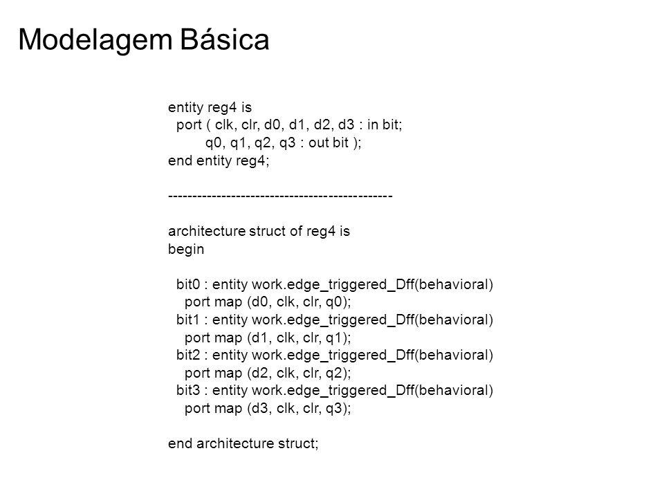 Modelagem Básica entity reg4 is
