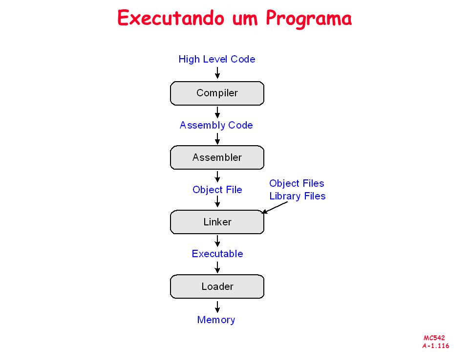 Executando um Programa