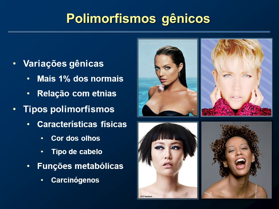 Polimorfismos gênicos