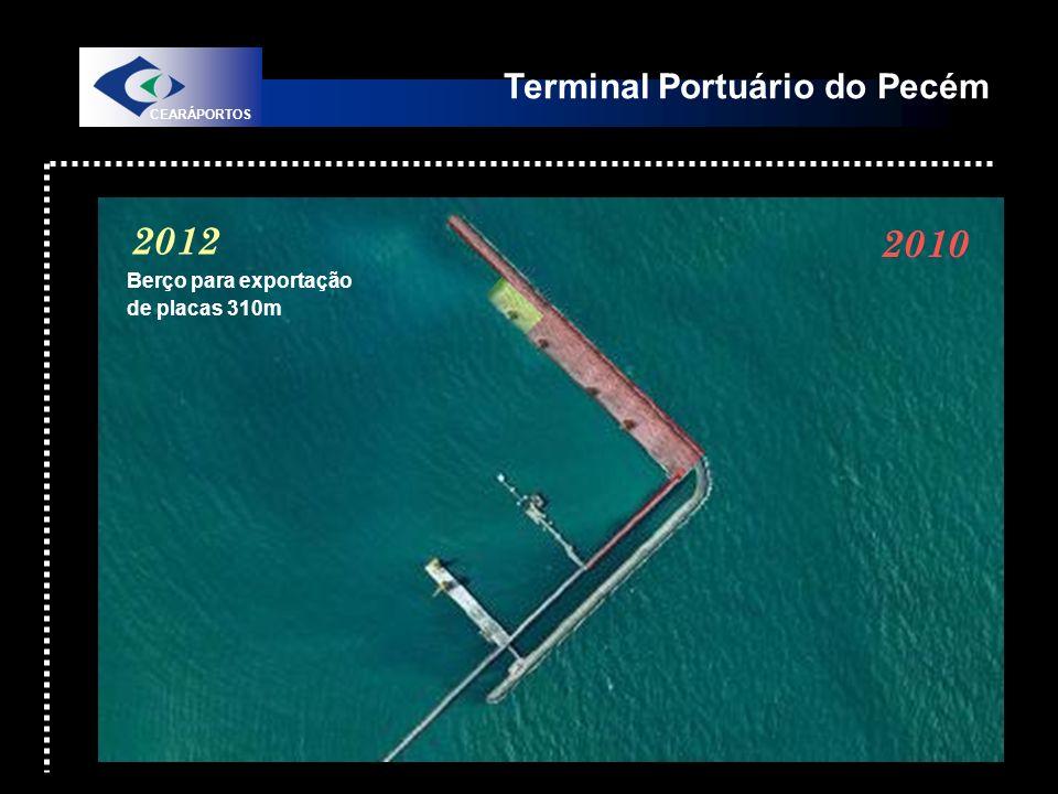 2012 2012 2010 Terminal Portuário do Pecém Berço para exportação