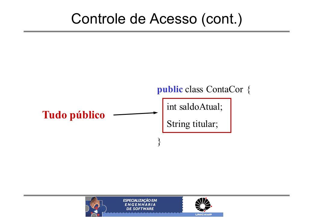 Controle de Acesso (cont.)
