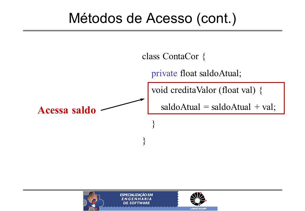 Métodos de Acesso (cont.)