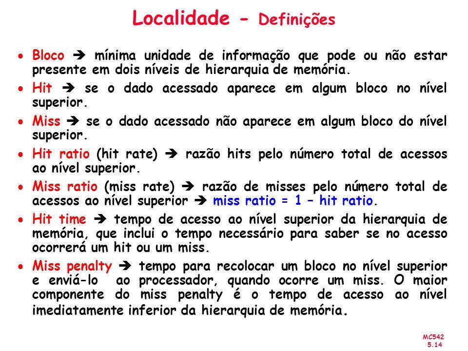 Localidade - Definições