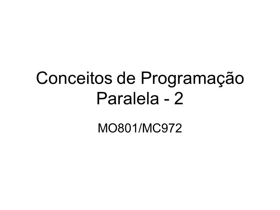 Conceitos de Programação Paralela - 2