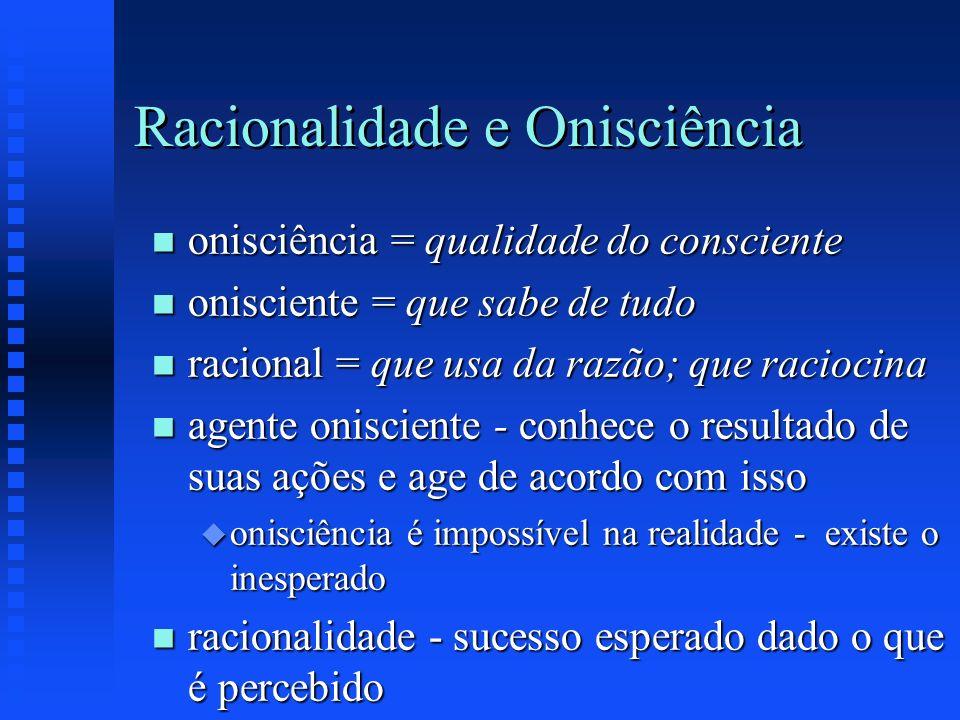 Racionalidade e Onisciência