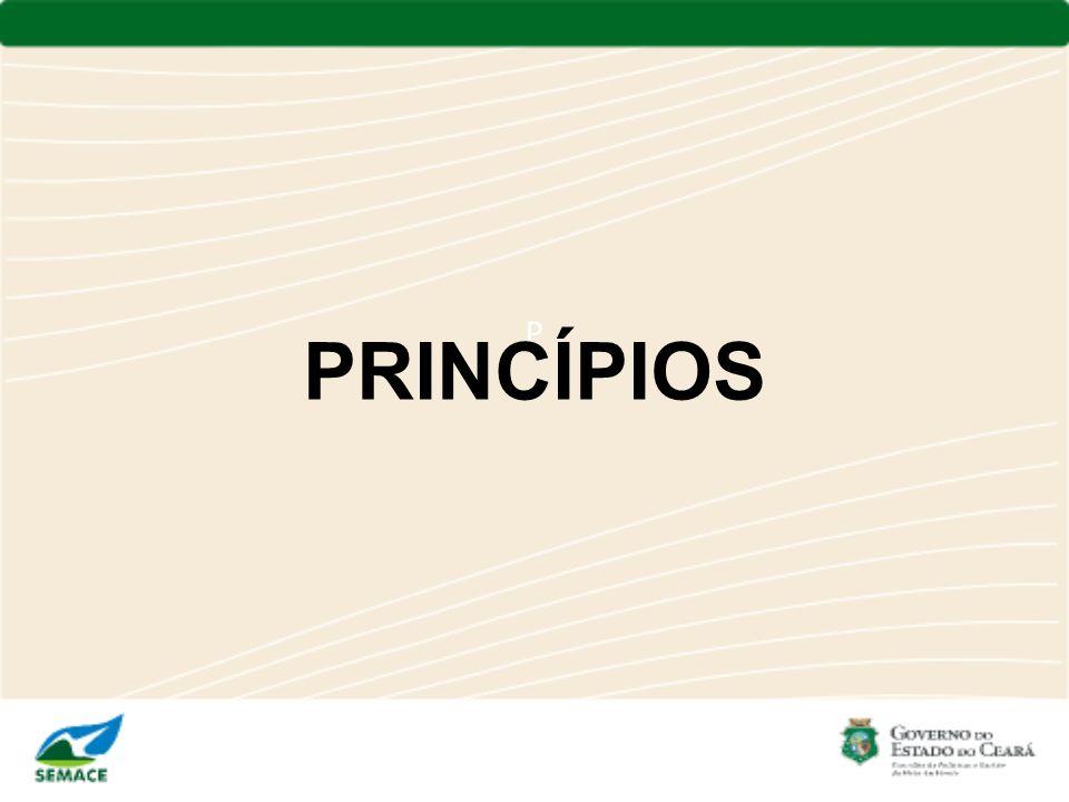 P PRINCÍPIOS