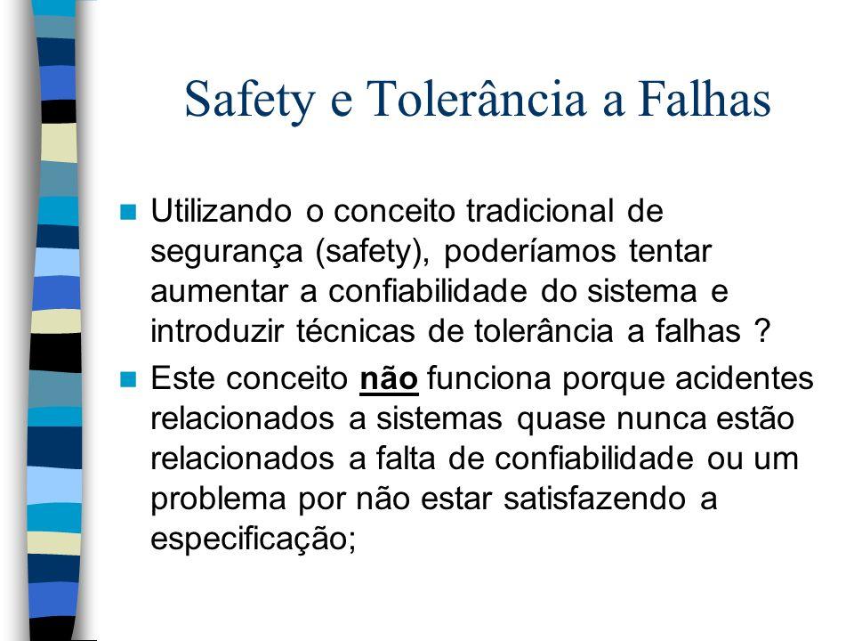 Safety e Tolerância a Falhas