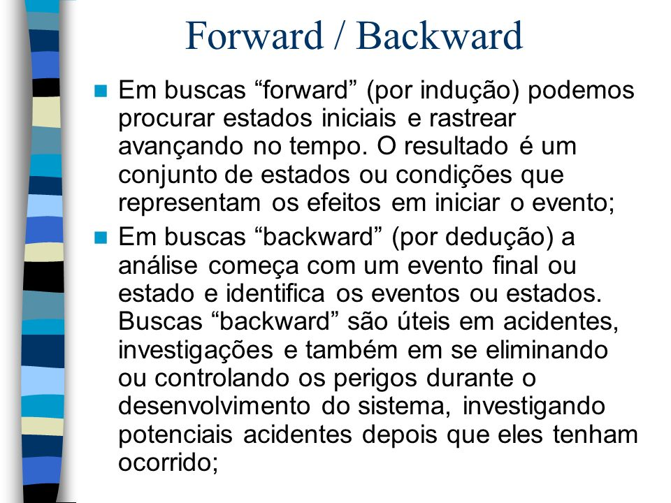 Forward / Backward
