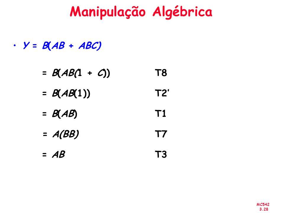 Manipulação Algébrica