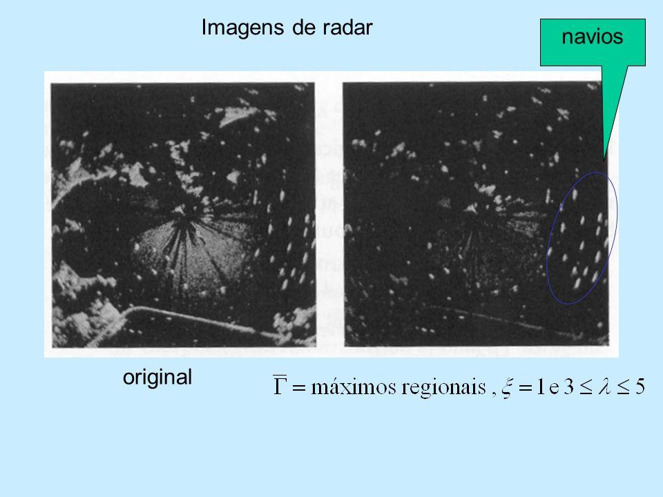 Imagens de radar navios original