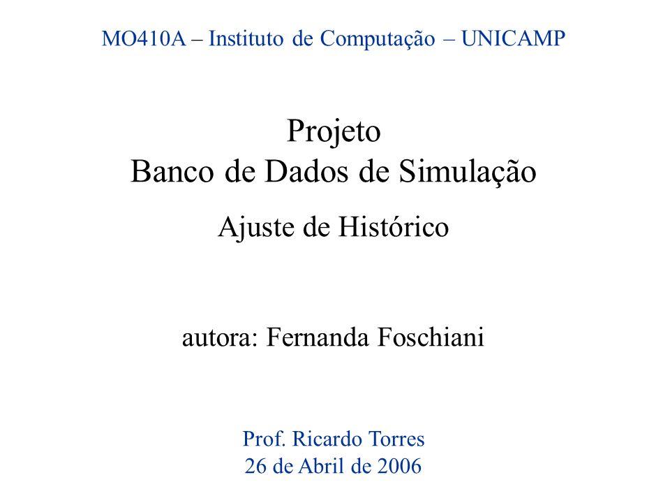 Banco de Dados de Simulação