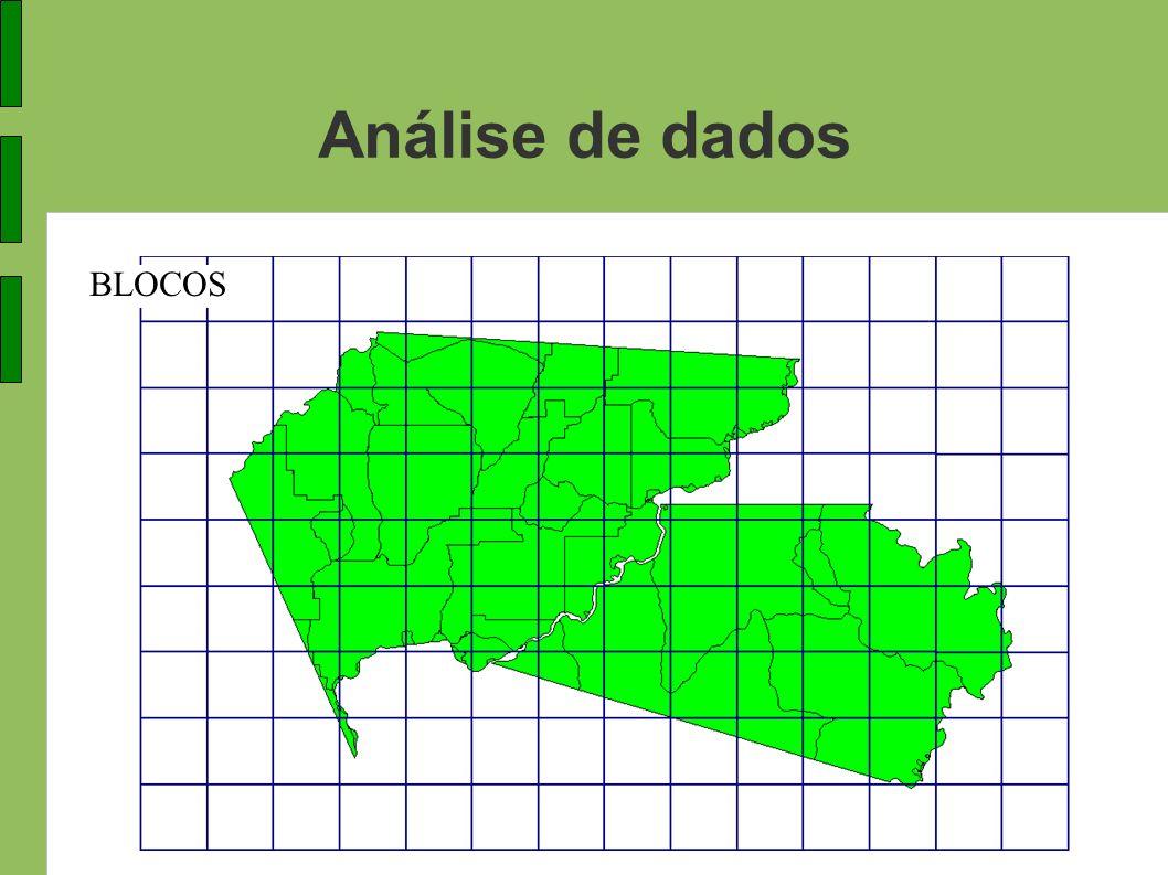 Análise de dados BLOCOS