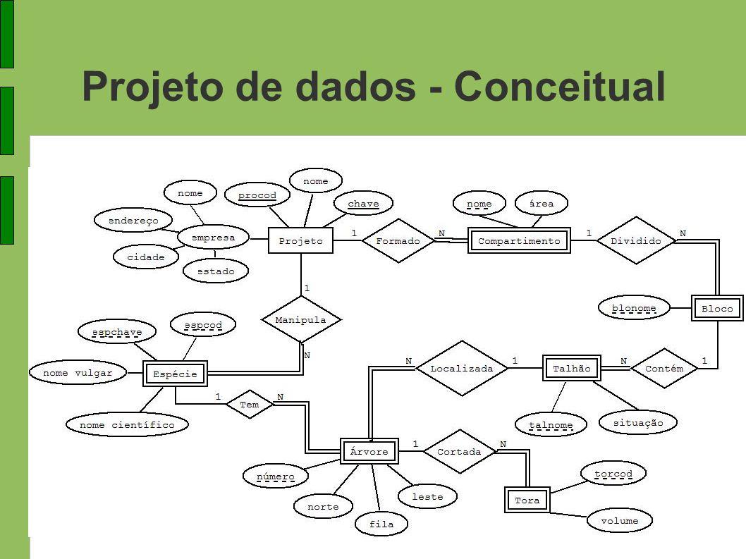 Projeto de dados - Conceitual