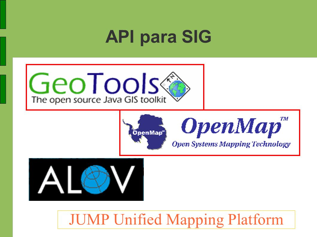 JUMP Unified Mapping Platform